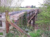 Aldington - Parks foot bridge over railway