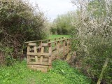 Badsey - Badsey to Blackminster footpath river bridge