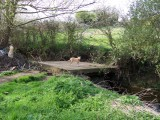 Aldington - Farm river bridge collapsed