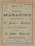 1898 Mar - Monthly Magazine for Parishes of S James Badsey with Aldington & S John Baptist Wickhamford