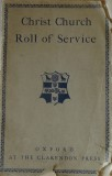 Christ Church Roll of Service