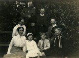 Bessie Sladden with Hubert & family