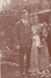 1920 wedding - John Taylor & Ethel Hawker