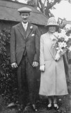 1926 wedding – William Bedenham & Elsie Stewart