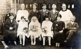 1928 wedding – Les Southern & Zoe March
