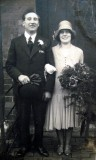 1930 wedding – Bertram Ockwell & Margaret Careless
