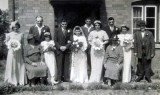 1941 wedding – Albert Webb & Dorothy Simms