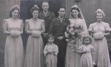 1945 wedding – June James & Ralph Gangi