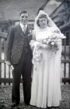 1946 wedding – Arthur Webb & Gerarda Smit