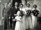 1946 wedding – Frank Southern & Jane Scott