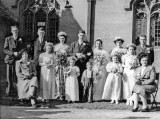 1951 wedding – David Evans & Cynthia Stewart