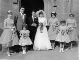 1963 wedding – Peter Stewart & Julie Stewart