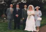 1991 wedding – Andrew Benfield & Rachel Parker