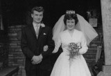 1961 wedding – David Caswell & June Caddick