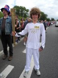 First torch-bearer, Alex Chantler-Mayne