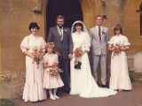 1991 wedding – Mark Ford & Nicola Cleaver