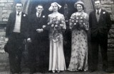 1937 wedding – Albert Harman & Dorothy Bennett