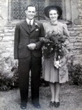 1943 wedding – Frederick Mason & Muriel Fletcher