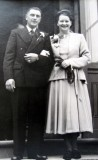 1951 wedding – Bill Walters & Vera Drinkwater