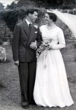 1958 wedding – Robert Salter & Doreen Harman