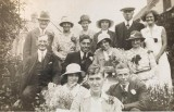 1919 wedding – May Knight & Charles Seabright