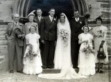 1951 wedding – Peter Byrd & Joyce Heritage