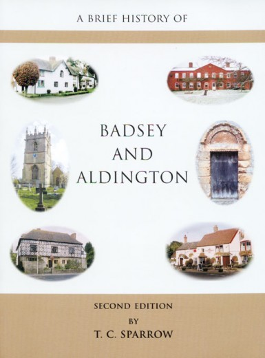 A Brief History of Badsey and Aldington book cover