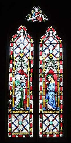 Stained Glass Window c.1851, St James Church, Badsey