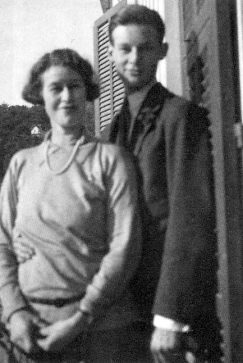 James Lees-Milne with his mother