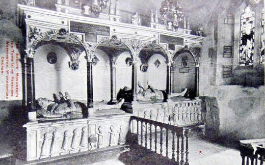 Church interior about 1908