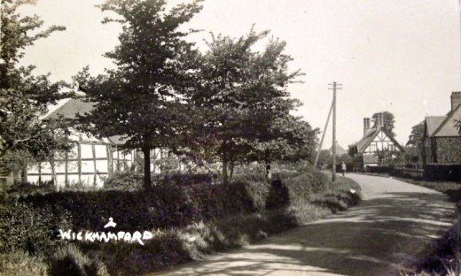 Manor Road in the 1940s