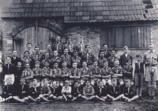 Badsey Scout Group 1948
