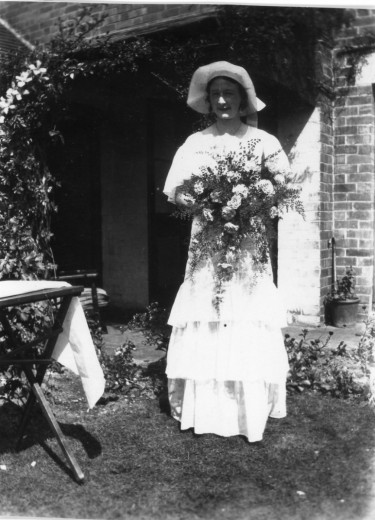 1933 – Constance Crisp, bridesmaid
